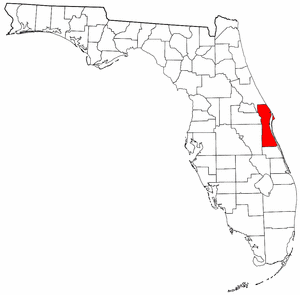 Brevard County Map